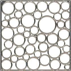 Baloncuk Özel Kaplamalı Seperatör Gümüş 10 Adet