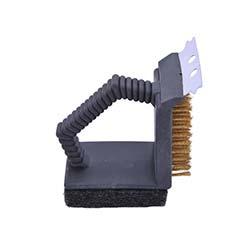 Landmann Mangal Temizleme Fırçası Kombi - Siyah