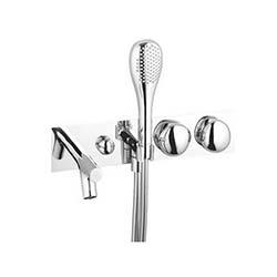 Artema İstanbul Ankastre Banyo Bataryası (El Duşlu) - Altın