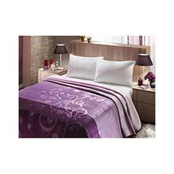 Mink Çift Kişilik Premium Battaniye 611 Lila