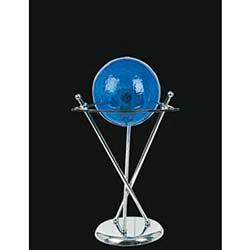 İthal Camlı Yonca Model Masa Lambası