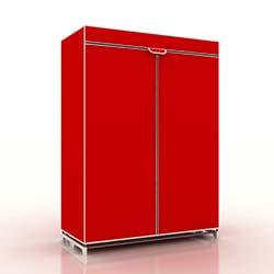 Prado Normal Tela Bez Dolap - Kırmızı