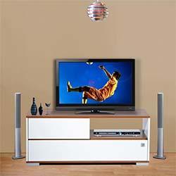 Kenyap Mega Tv Sehpası - Milas&Beyaz