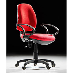 Adore Form Plus Kolçaklı Ofis Koltuğu Kırmızı