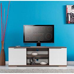 Adore Flat Line Mega Tv Dolabı Noce- Lake Beyaz