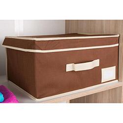 Handy Mate Çok Amaçlı Kapaklı Kutu (40x30x20 cm) - Kahverengi