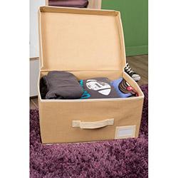 Handy Mate Çok Amaçlı Kapaklı Kutu (40x30x20 cm) - Krem