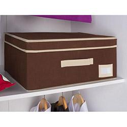 Handy Mate Çok Amaçlı Kapaklı Kutu (45x33x20 cm) - Kahverengi