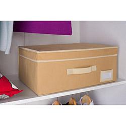 Handy Mate Çok Amaçlı Kapaklı Kutu (45x33x20 cm) - Krem