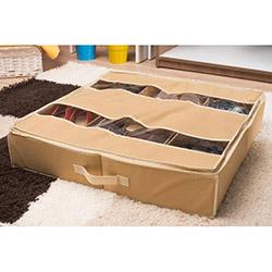 Handy Mate Yatak Altı Ayakkabı Düzenleyicisi (60x60x13) - Krem