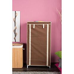Handy Mate Çok Amaçlı 4 Raflı Bez Dolap (60x30x120 cm) - Kahverengi