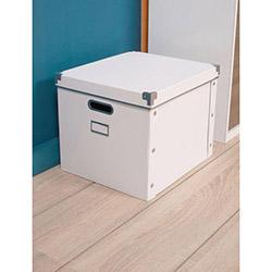 Handy Mate Çok Amaçlı Saklama Kutusu (38x33x30 cm) - Beyaz