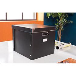 Handy Mate Çok Amaçlı Saklama Kutusu (38x33x30 cm) - Siyah