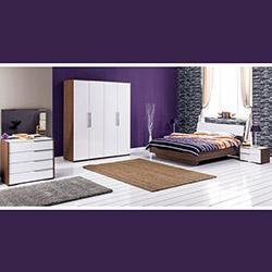 Adore Prestige Tkpot-01-Nb-8 Yatak Odası Takımı - Noce / Lake Beyaz