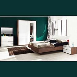 Adore Prestige Tkpot-04-Nb-8 Yatak Odası Takımı - Noce / Lake Beyaz