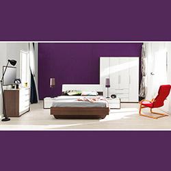 Adore Prestige Tkpot-07-Nb-10 Yatak Odası Takımı - Noce / Lake Beyaz