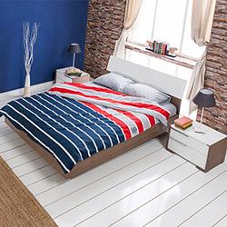 Adore Prestige Tkpot-13-Nb-4 Yatak Odası Takımı - Noce / Lake Beyaz