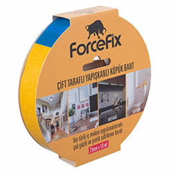 Forcefix Çift Taraflı Köpük Bant - 25 mm