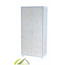 Plastik Dolap Granit (Krem) - 140x65x36 cm