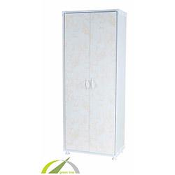 Plastik Dolap Granit (Krem) - 170x65x36 cm