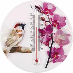 Agromak 3215 Bahçe Termometresi - Kırmızı