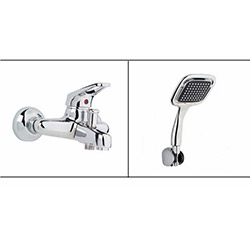 Alper Banyo Aç Kapa Banyo Bataryası (Duş Başlığı Hediyeli)