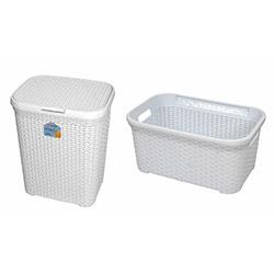 2'li Banyo Sepeti - Beyaz
