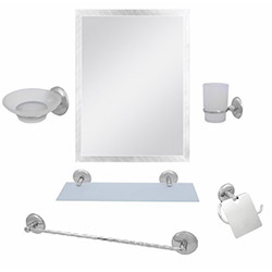 Alper Banyo No:23 6'lı Aynalı Banyo Seti