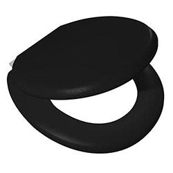 Alper Banyo Süngerli Klozet Kapağı -Siyah