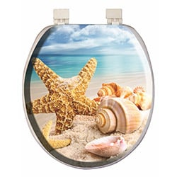 Alper Banyo 3004 Kumsal Desenli Klozet Kapağı