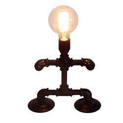 Adalinhome AD3415 Rustik Retro Masa Lambası - Siyah
