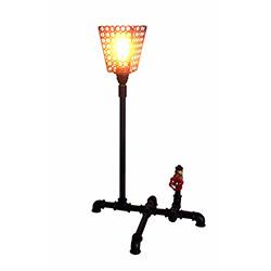 Adalinhome AD3427 Rustik Retro Masa Lambası - Siyah