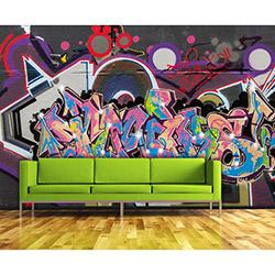 Artmodel PDA-24 Graffiti Poster Duvar Kağıdı - 390x270 cm