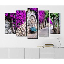 Serenity Home 5PRC1404 Mdf Tablo - 5 Parçalı
