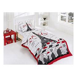 Belenay Eiffel Tek Kişilik Uyku Seti - Kırmızı
