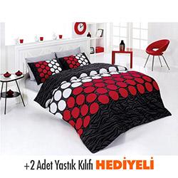 Belenay Ekol Çift Kişilik Uyku Seti - Kırmızı