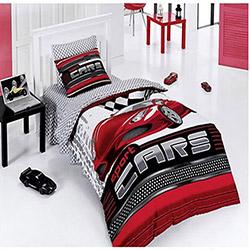 Belenay Sport Cars Tek Kişilik Uyku Seti - Kırmızı