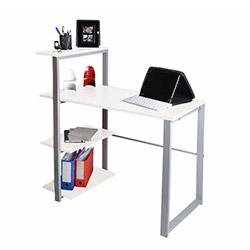 A35 Sardes Small Raflı Çalışma Masası - Beyaz