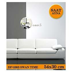 Swan Time 54X30 Cm