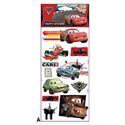 Cars Puffy Sticker 12,4X29,5 Cm