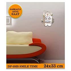 Smile Sarkaçli Ayna Saat 24X33 Cm