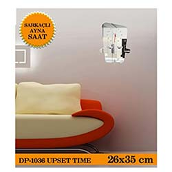 Upset Sarkaçli Ayna Saat 26X35 Cm