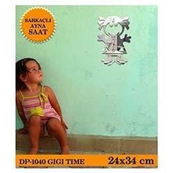 Gigi Sarkaçli Ayna Saat 24X34 Cm