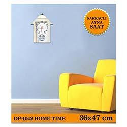 Home Sarkaçli Ayna Saat 36X47 Cm