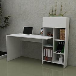 Just Home Agora Çalışma Masası - Beyaz