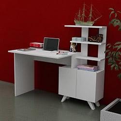 Just Home Allegro Çalışma Masası - Beyaz