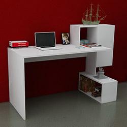 Just Home Marsilya Çalışma Masası - Beyaz