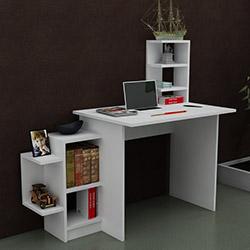 Just Home Samentha Çalışma Masası - Beyaz