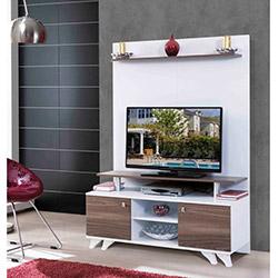 Alpino Alfa TV Ünitesi - Beyaz / Vanezya