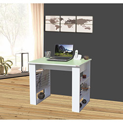Alpino Casper Çalışma Masası - Çağla Yeşili / Beyaz